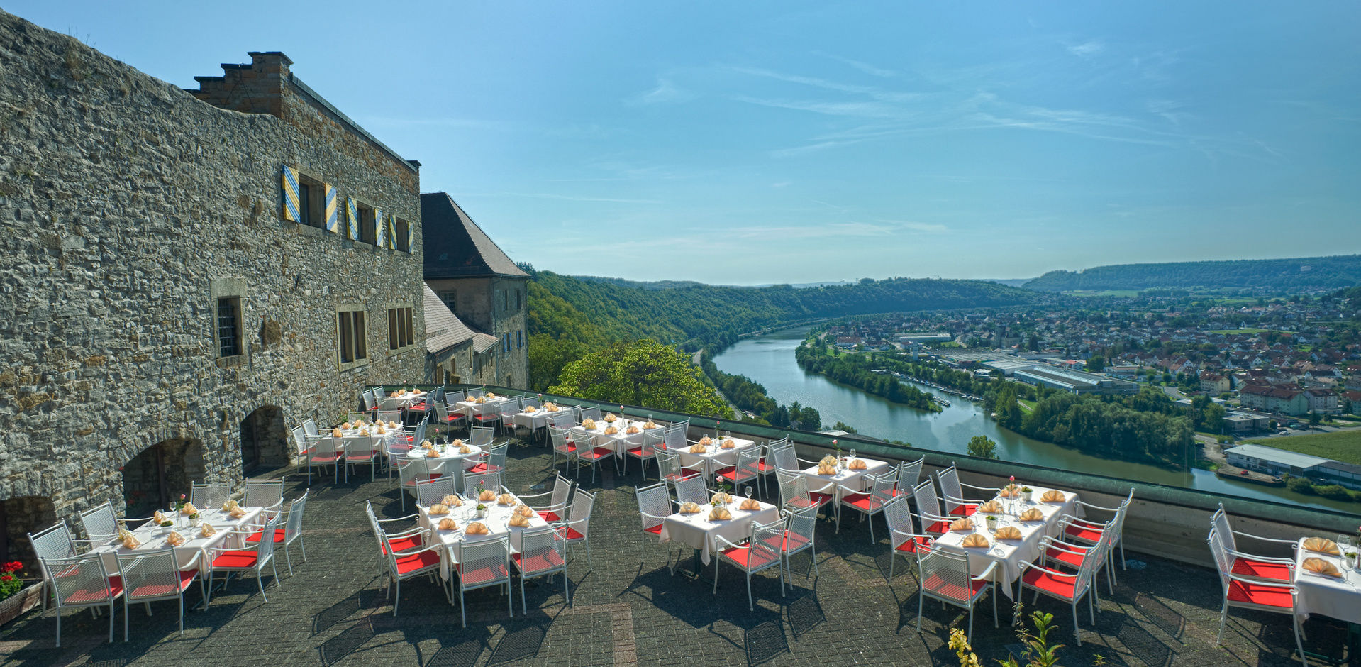 4 Sterne Hotel Hornberg Burghotel Heilbronn Neckarzimmern Heidelberg